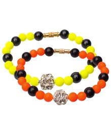Daizy Bracelet Combo - Yellow Orange & Black