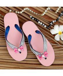 D'Chica Flower Flip Flop - Pink
