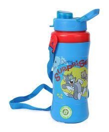 Tom And Jerry Water Bottle Blue - 360 ml