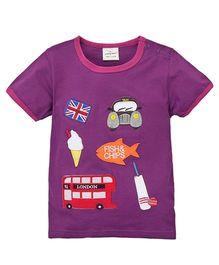 Pre Order - Superfie Kiddy Life Tee - Purple