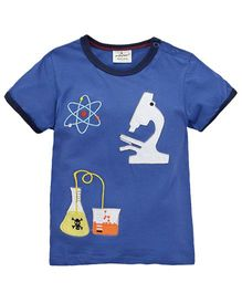 Superfie Science Theme Tee - Blue