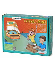 Funvention Catapult Mania Build & Play 6 Unique Games - Multi Color