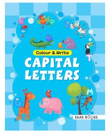 Colour & Write Capital Letters - English
