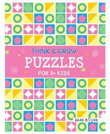 Think & Grow Puzzles For 3+ Kids - English
