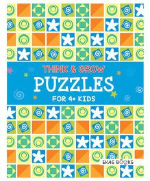 Think & Grow Puzzles For 4+ Kids - English
