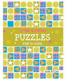 Think & Grow Puzzles For 5+ Kids - English