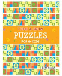 Think & Grow Puzzles For 6+ Kids - English