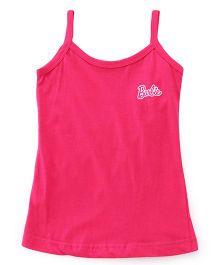 Barbie Singlet Slip - Dark Pink