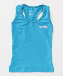 Hello Kitty Sleeveless Racerback Slip - Blue