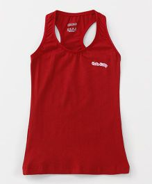 Hello Kitty Sleeveless Racerback Slip - Red