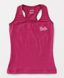 Barbie Sleeveless Racerback Slip - Dark Pink