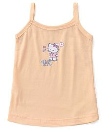 Hello Kitty Singlet Slip - Peach