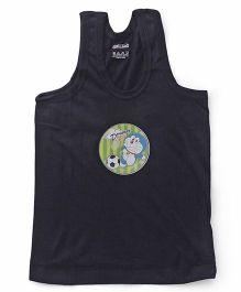 Doraemon Sleeveless Vest Printed - Navy