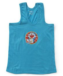 Doraemon Sleeveless Vest Printed - Blue
