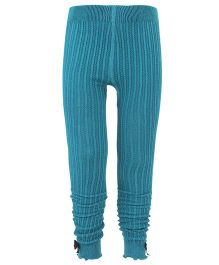 Mustang Tights With Bows - Teal