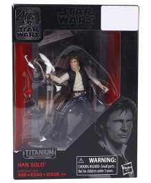 Star Wars The Black Series Han Solo Die Cast Action Figure - Height 9.5 cm