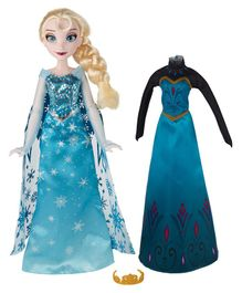 Disney Frozen	Elsa Doll With Accessories Blue - 27.5 cm