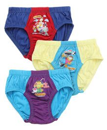 Mustang Briefs Garfield Print Pack Of 3 - Multi Color