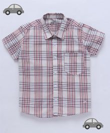 Milonee Plaid Print Shirt - Multicolour