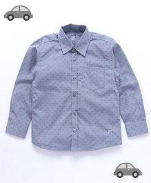 Milonee All Over Print Shirt - Grey