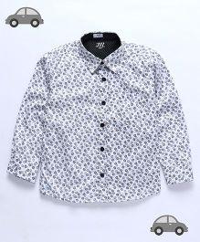 Milonee Twisted Circle Print Shirt - Multicolour