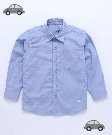 Milonee Small Weaves Shirt - Blue