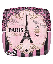 Planet Jashn A Day In Paris Balloon - Pink