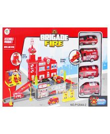 Emob DIY Easy Build Fire Brigade Station Assemble Set