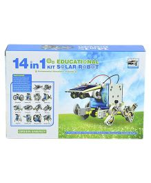 Emob 14 in 1 Educational Solar Robot Kit