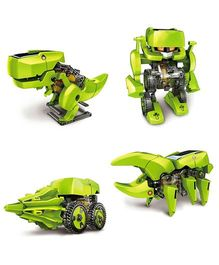 Emob 4 in 1 Solar Robot Educational Toy - Green