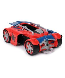 Marvel Spider Man Homecoming Racer Toy Car Red Blue - 13 cm