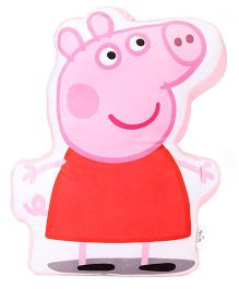 Peppa Pig Soft Cushion - Red & Pink