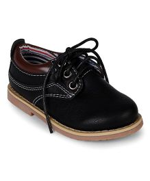 Cute Walk by Babyhug Party Wear Shoes - Black