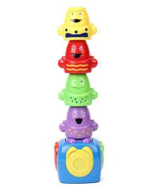 Sunny Magnetic Stack A Cup Game - Multi Color