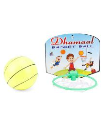 Ankit Toys Dhamaal Basket Ball -Yellow Green