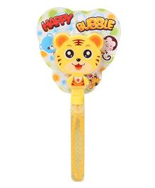 Sunny Happy Bubble Stick Animal Face - Yellow