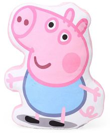 Peppa Pig George Pig Plush Toy Cushion - Pink Blue