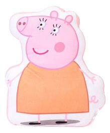 Mummy Pig Plush Toy Cushion -  Pink Orange