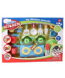 Sunny Kitchen Set - Green Blue Red
