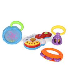 Sunny Rattle Set Pack Of 4 - Multi Color