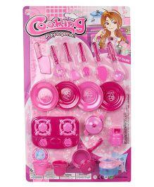 Sunny Toy Kitchen Set - Pink