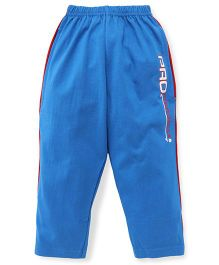 Taeko Full Length Track Pants - Blue