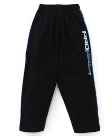 Taeko Full Length Track Pants - Black