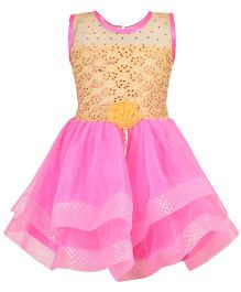 Aarika Party Wear Tutu Dress - Pink