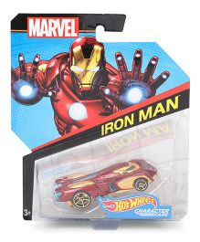 Hot Wheels Iron Man Toy Car - Maroon Gold