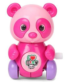 Sunny Wind Up Panda Toy - Pink