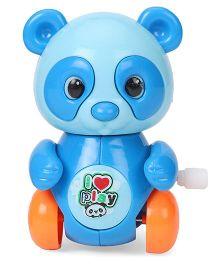Sunny Wind Up Panda Toy - Blue