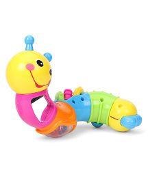 Sunny Intelligent Block Worm Rattle - Multi Color