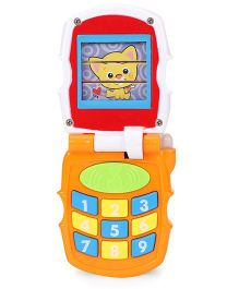 Sunny Musical Toy Phone - Red Yellow