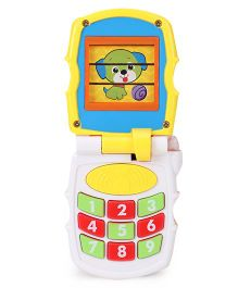 Sunny Musical Toy Phone - Orange & Blue